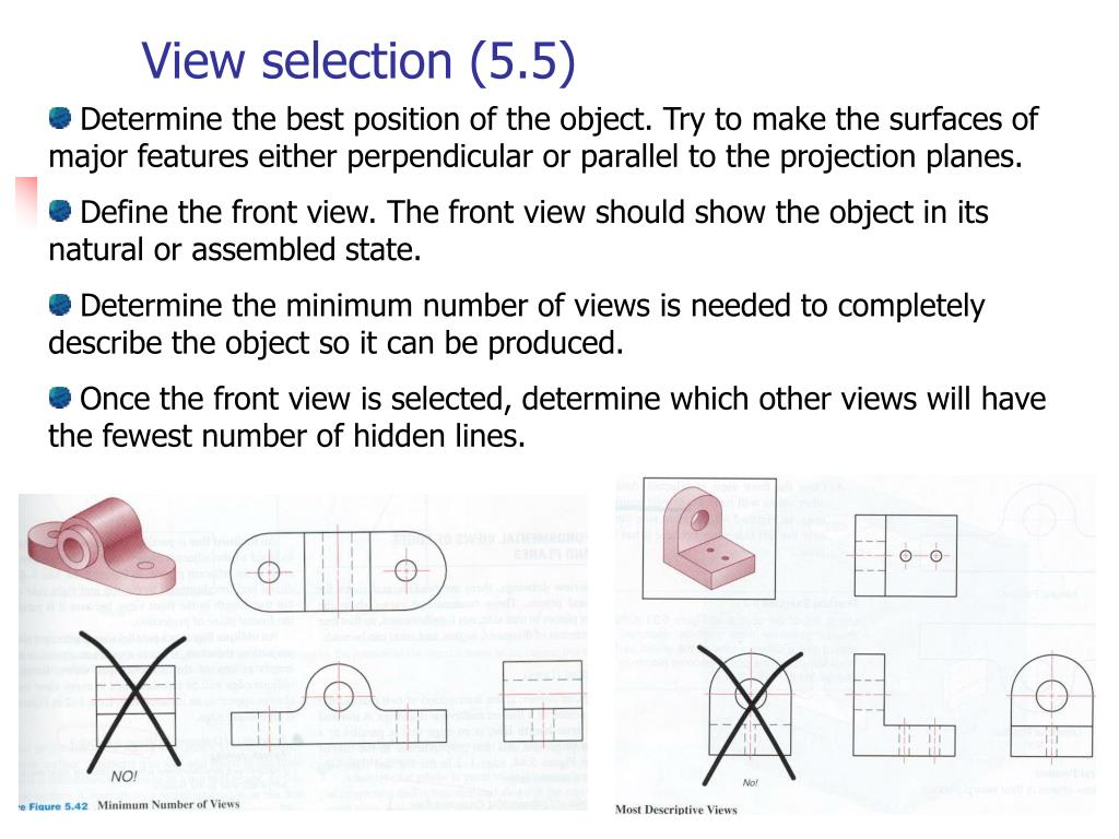 View selection (5.5)