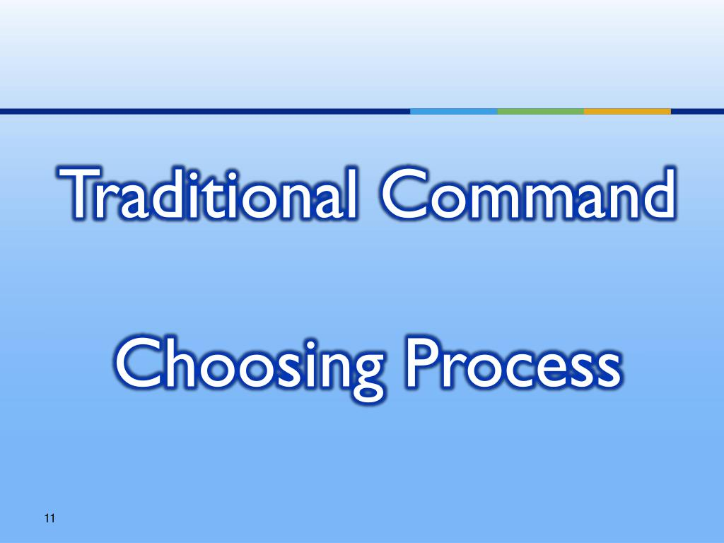 Traditional Command