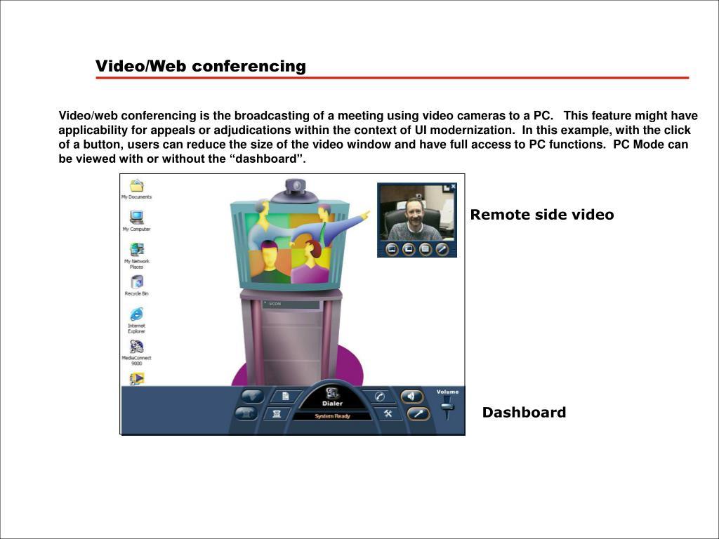 Video/Web conferencing
