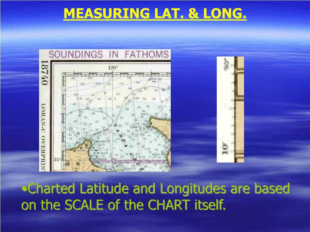 MEASURING LAT. & LONG.