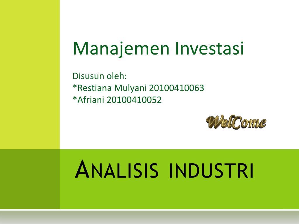 Analisis industri
