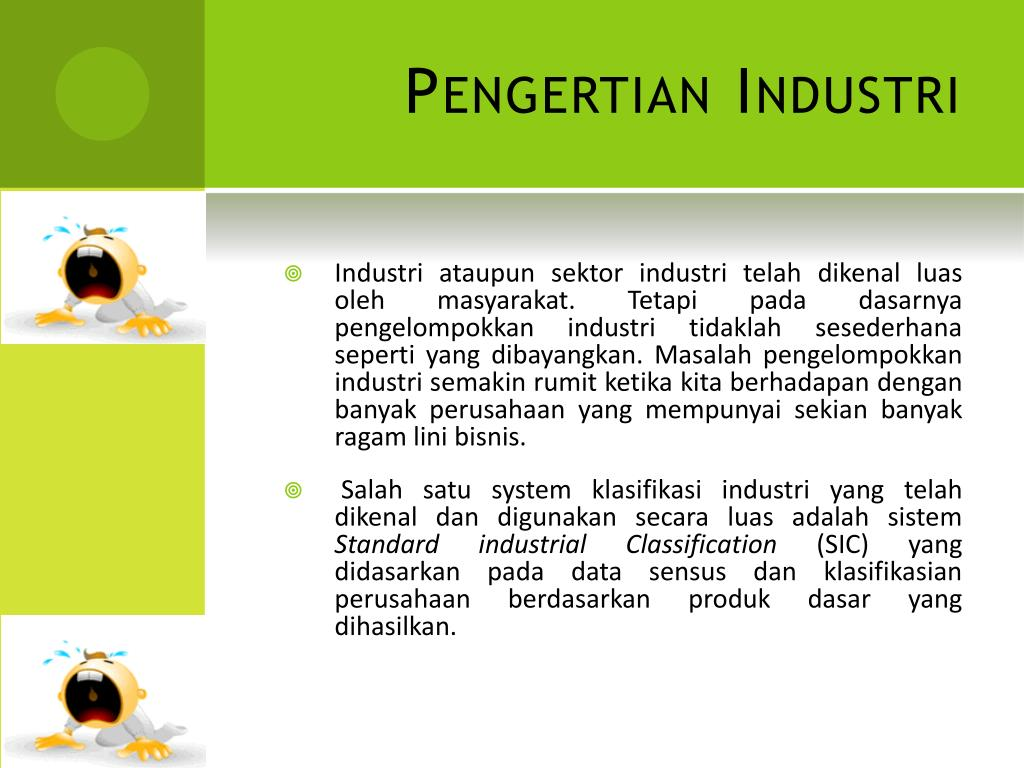 Pengertian Industri