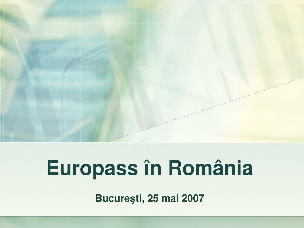 europass n rom nia