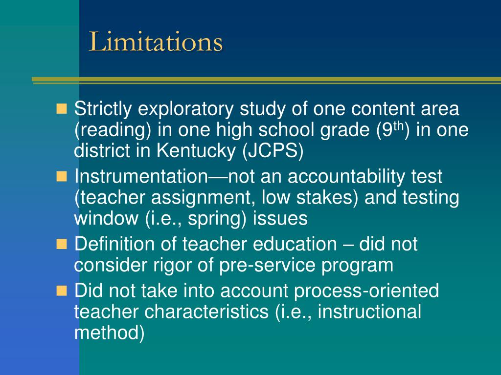 research on teacher characteristics and performance International journal of education and research effect of teacher quality on student performance in mathematics in primary 6 kara &njagi (2013) investigated the relationship between selected teachers' demographic characteristics and classroom instructional.