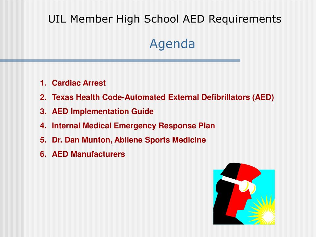 UIL Member High School AED Requirements