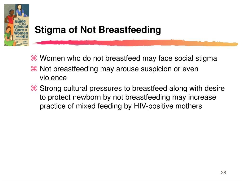 Stigma of Not Breastfeeding