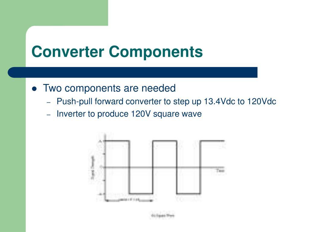 Converter Components