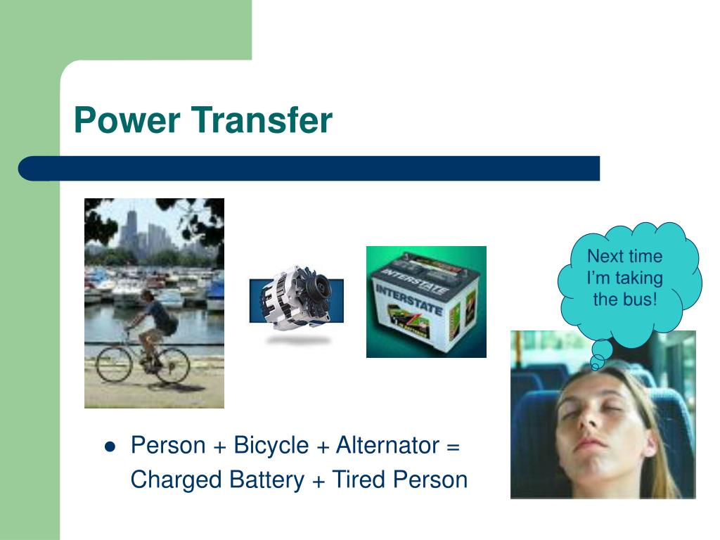 Power Transfer