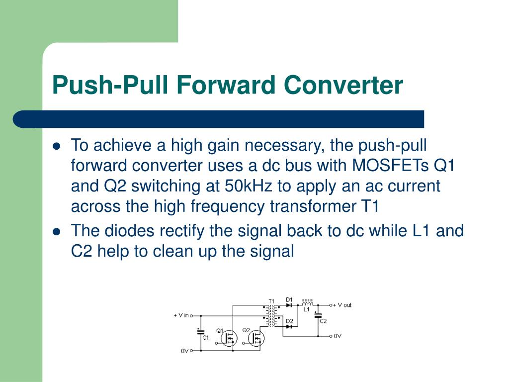 Push-Pull Forward Converter