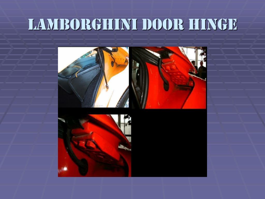 Lamborghini Door Hinge