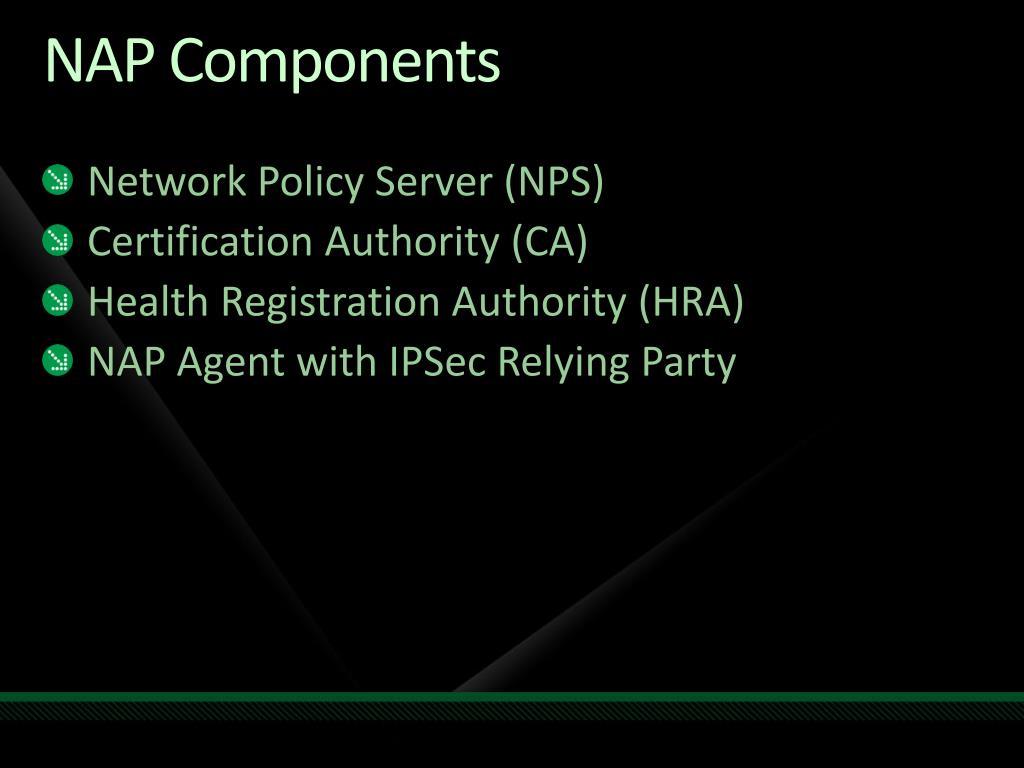 NAP Components