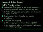 network policy server nps configuration