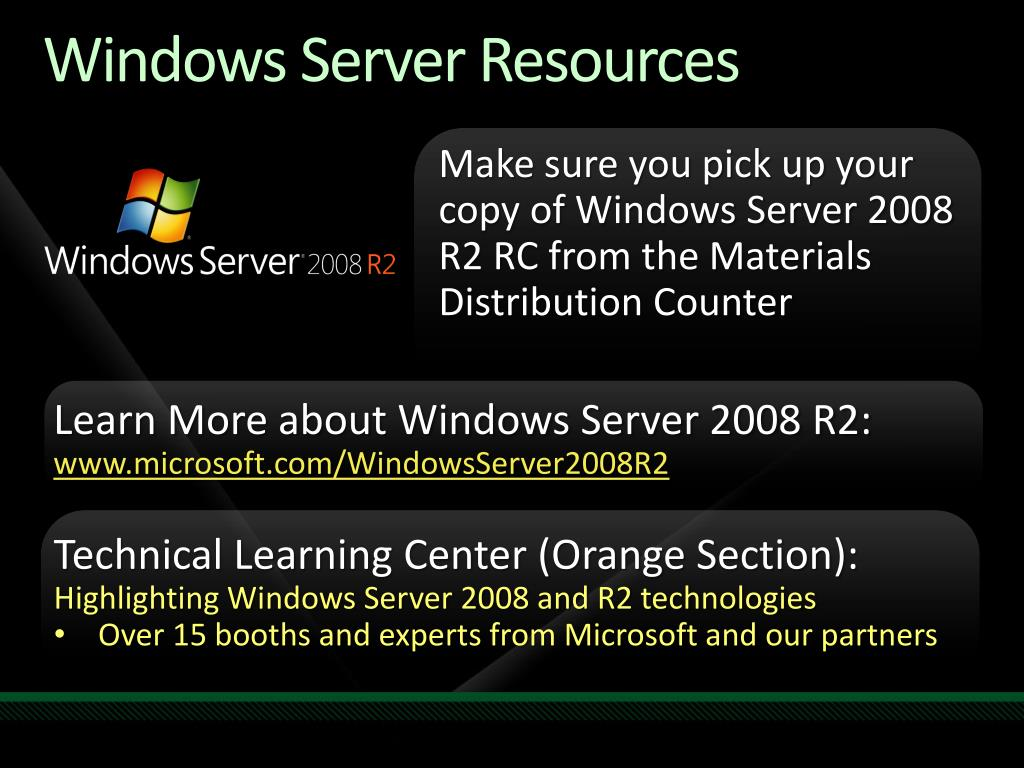 Windows Server Resources