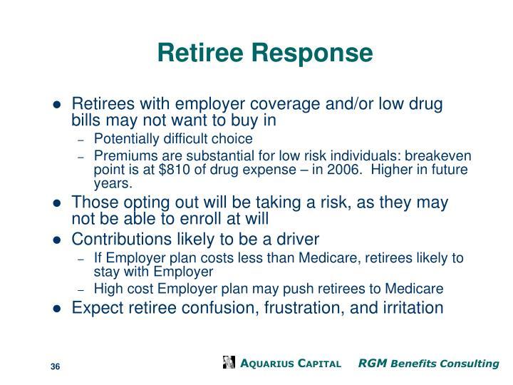 Retiree Response