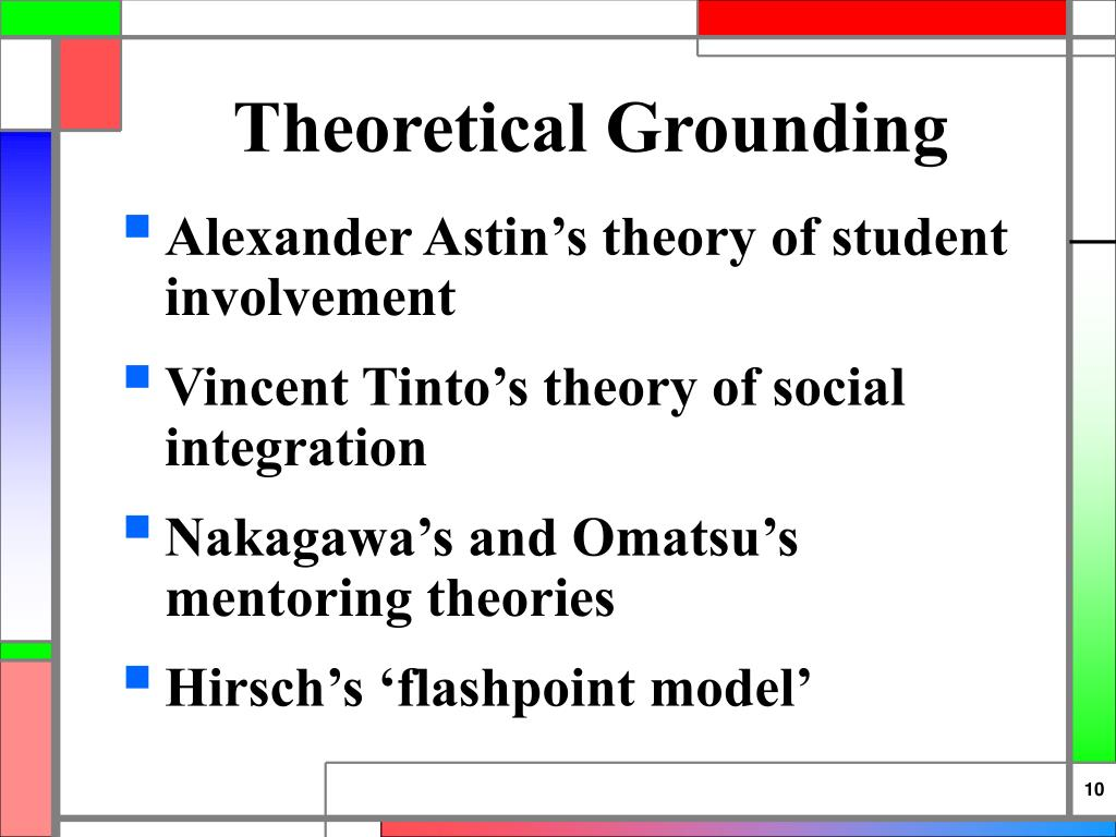 Theoretical Grounding