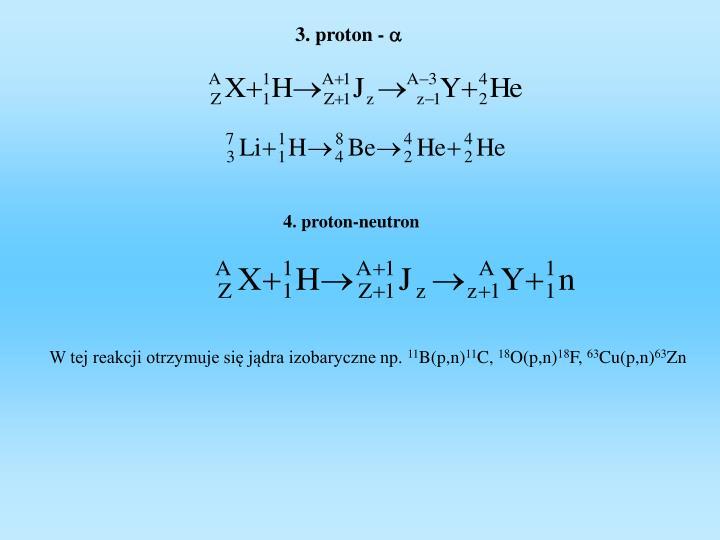 3. proton -