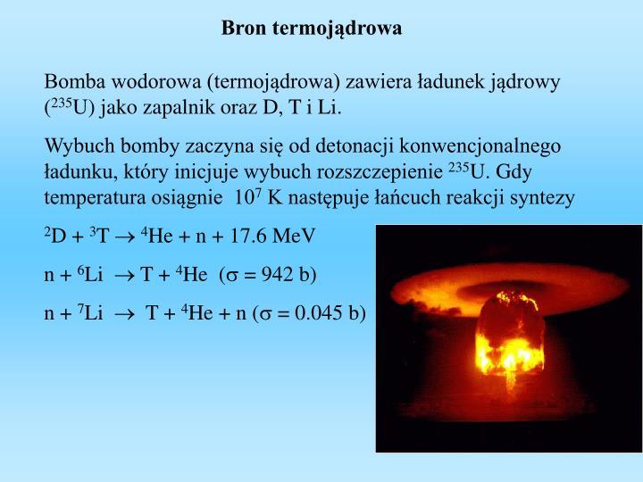 Bron termojądrowa