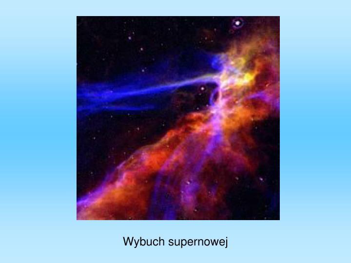 Wybuch supernowej