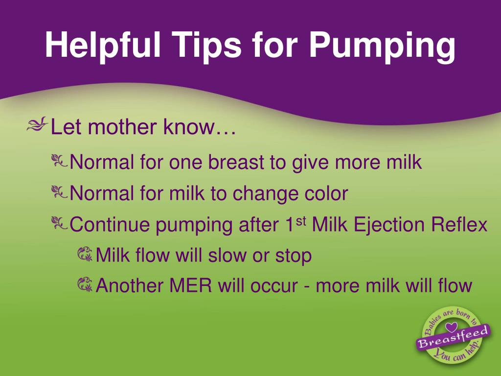 Helpful Tips for Pumping