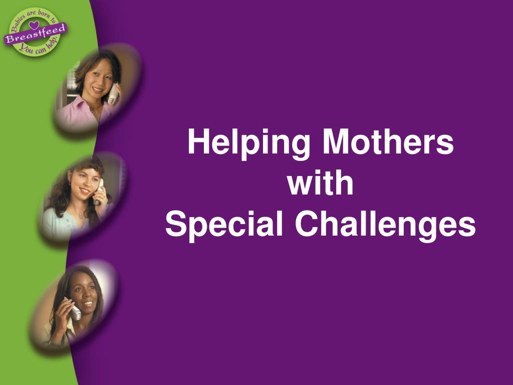 Helping Mothers with