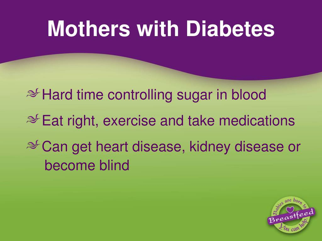 Mothers with Diabetes