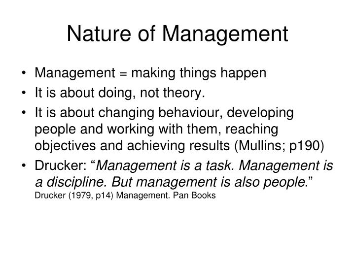 Nature of management l.jpg