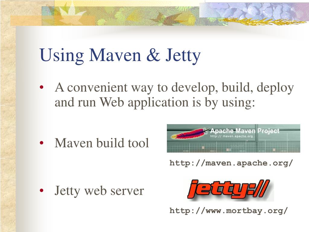 Using Maven & Jetty