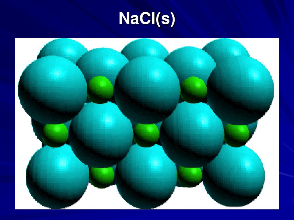 NaCl(s)