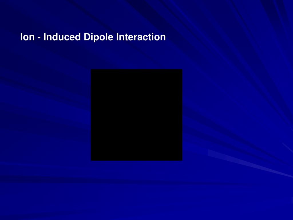 Ion - Induced Dipole Interaction