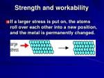 strength and workability33
