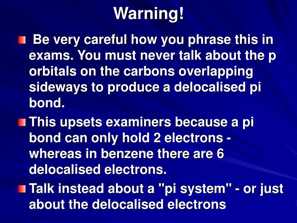 Warning!