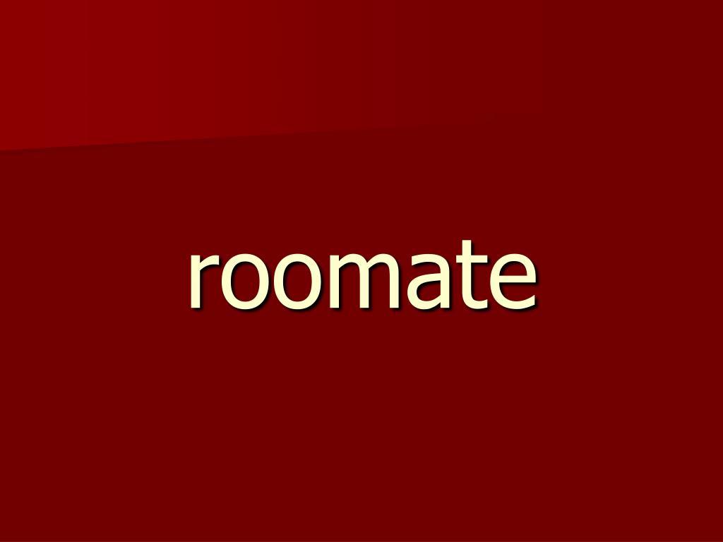 roomate
