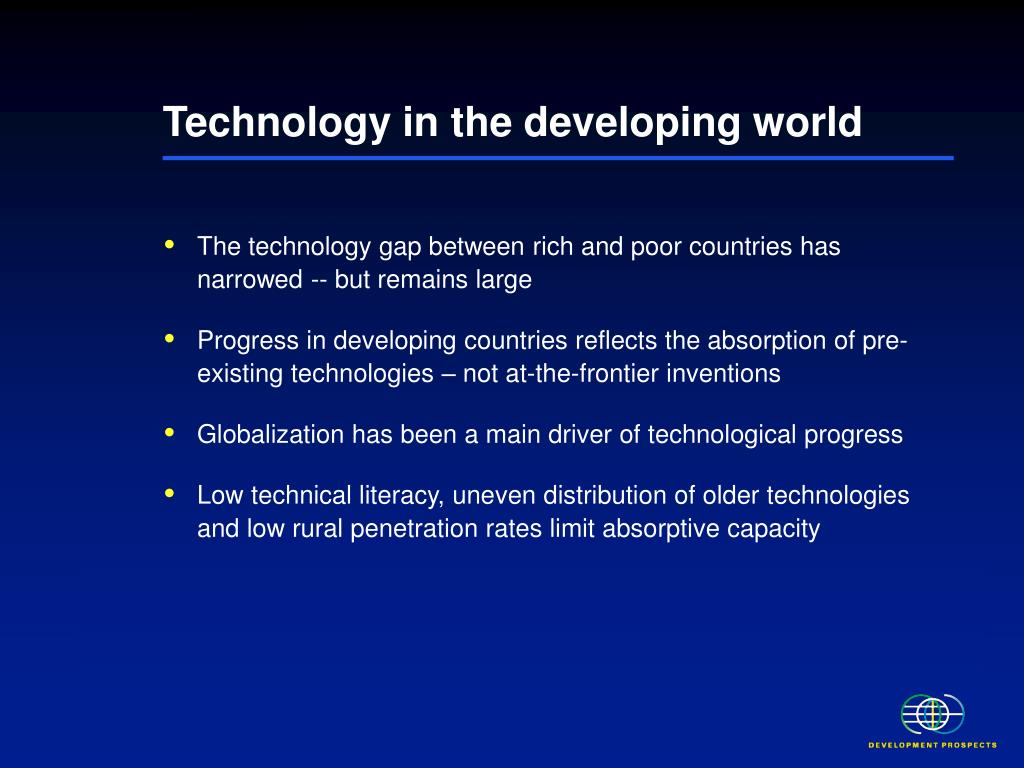 Technology in the developing world