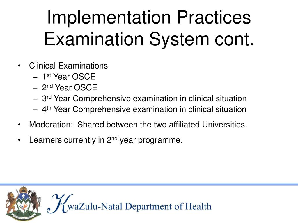 Implementation Practices