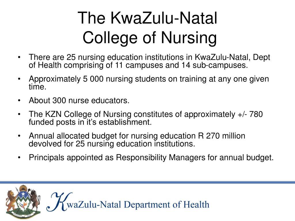 The KwaZulu-Natal