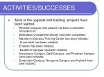 activities successes20