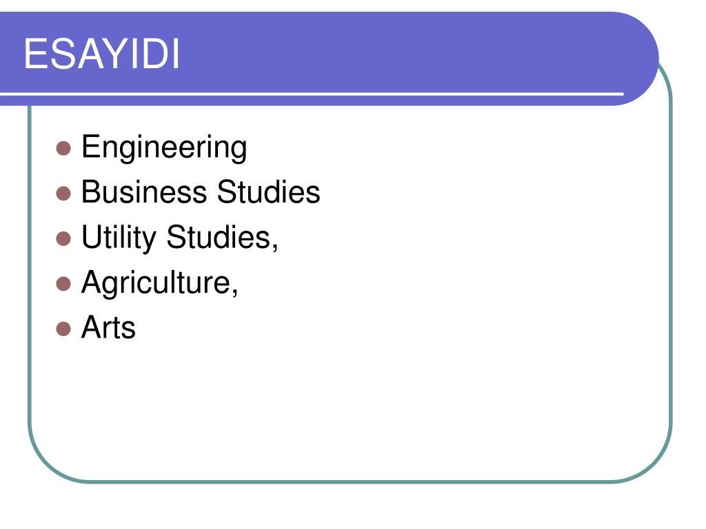 ESAYIDI