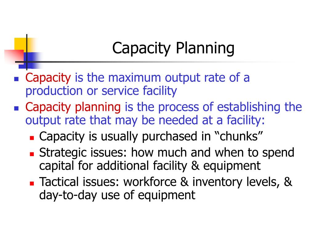 capacity planning strategy of benetton