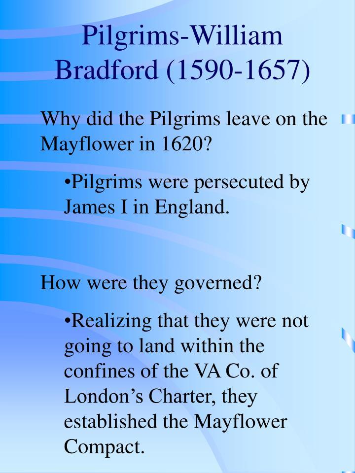 Pilgrims-William Bradford (1590-1657)