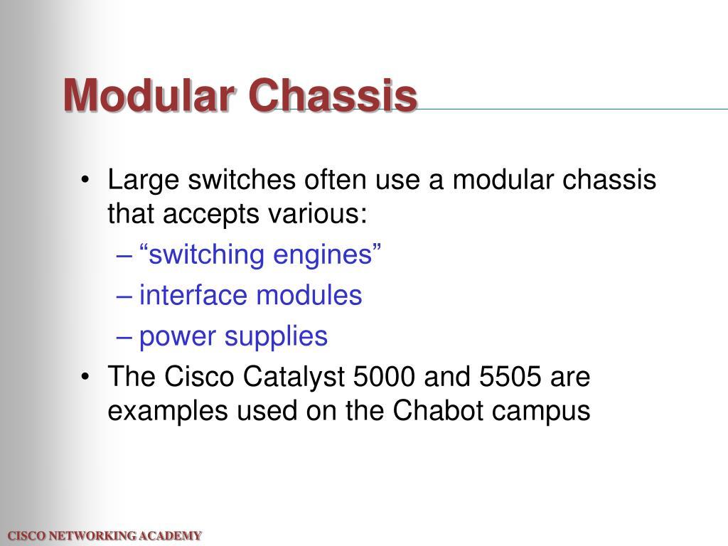 Modular Chassis