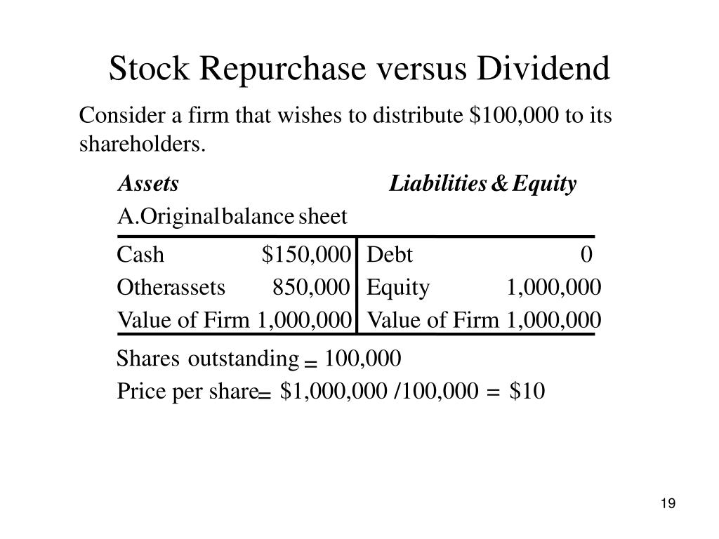 Are buybacks better for investors than dividends?
