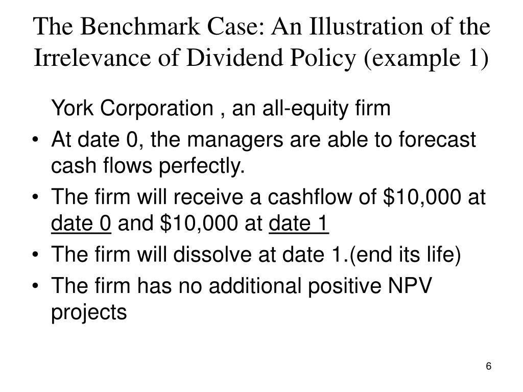 case for exam dividend policy Determinants of dividend policy the payment of dividend involves some legal as well as financial considerations it is difficult to determine a general dividend policy which can be followed by different firms at different times because dividend decision has to be taken considering the special circumstances of an individual case.