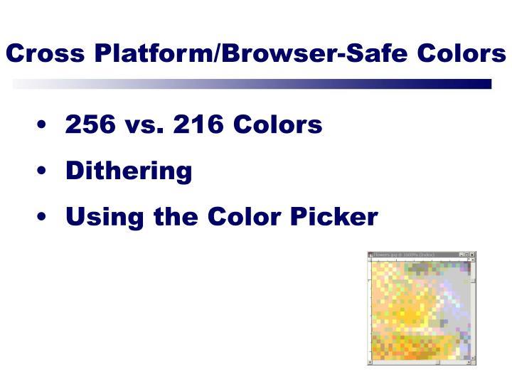 Cross Platform/Browser-Safe Colors