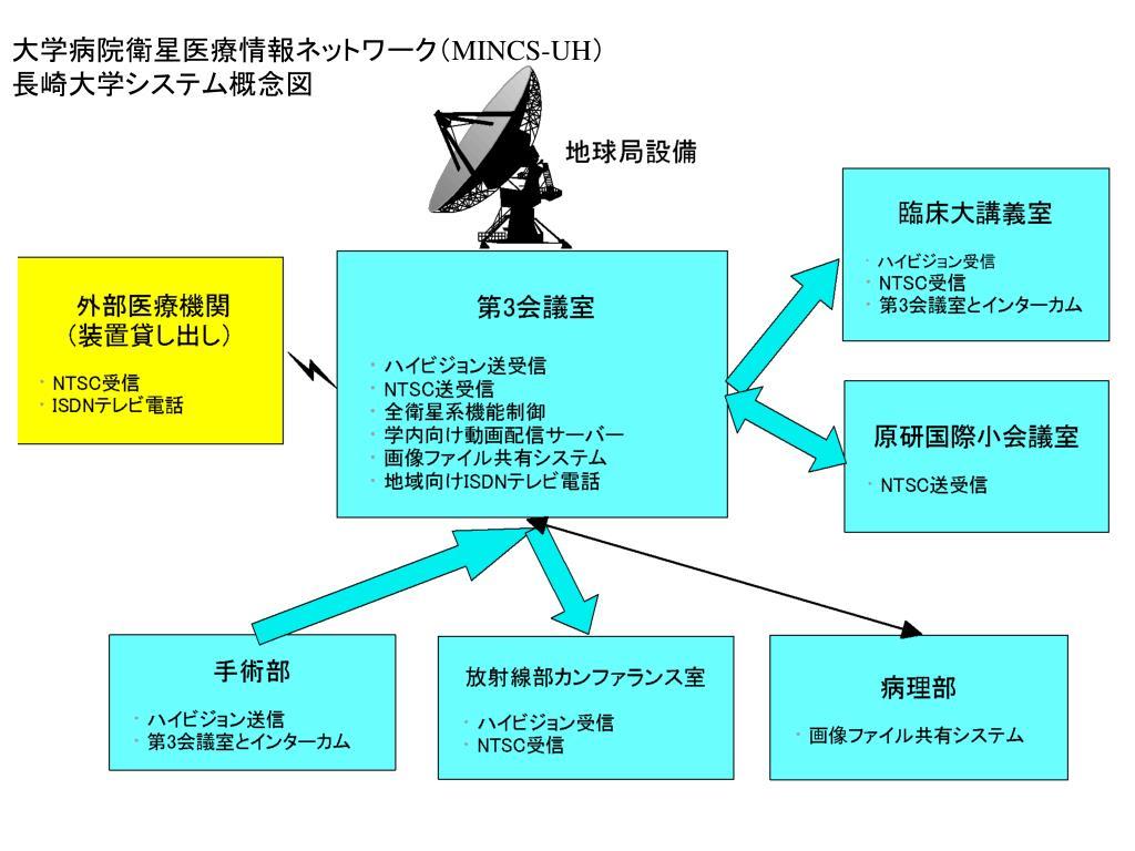 大学病院衛星医療情報ネットワーク(