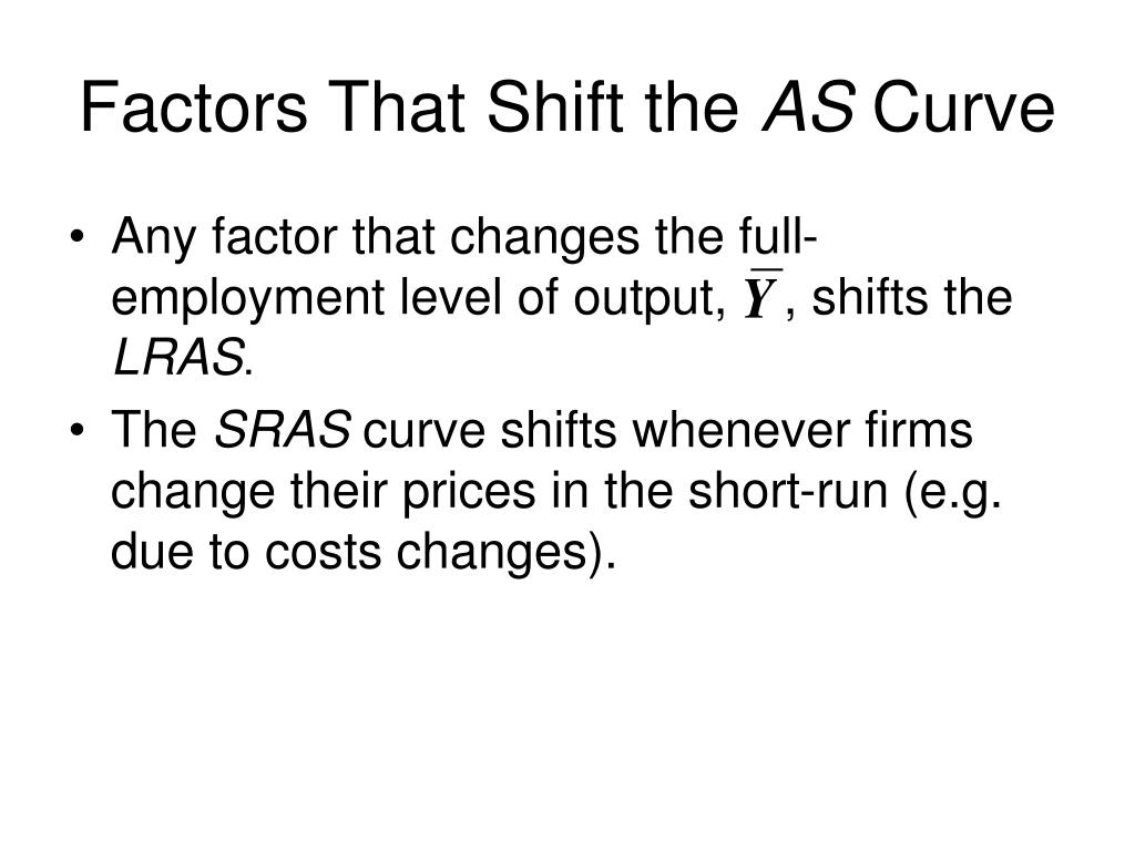 Factors That Shift the