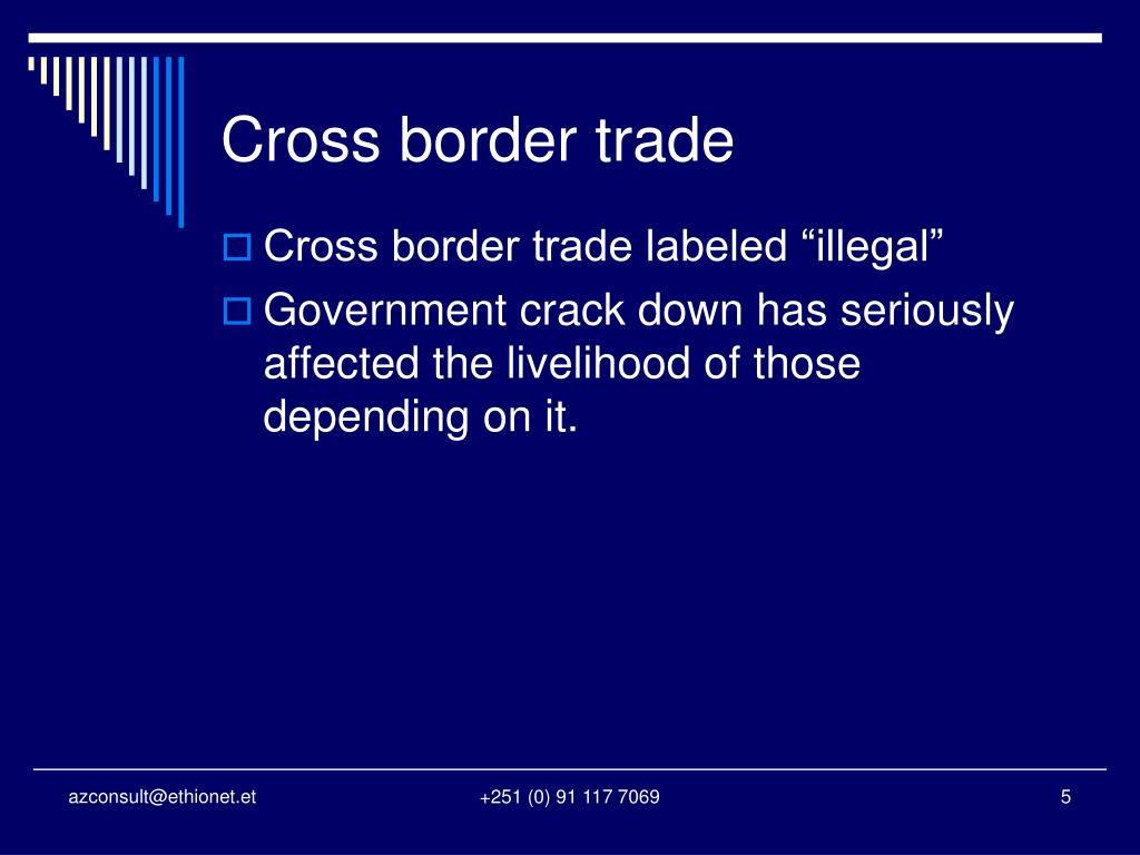Cross border trade