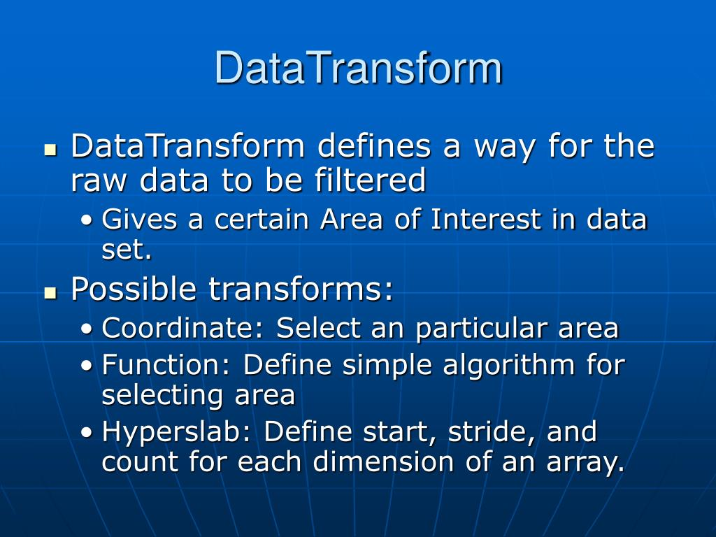 DataTransform