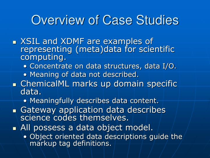 Overview of case studies l.jpg