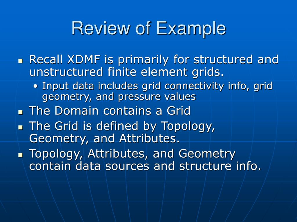 Review of Example