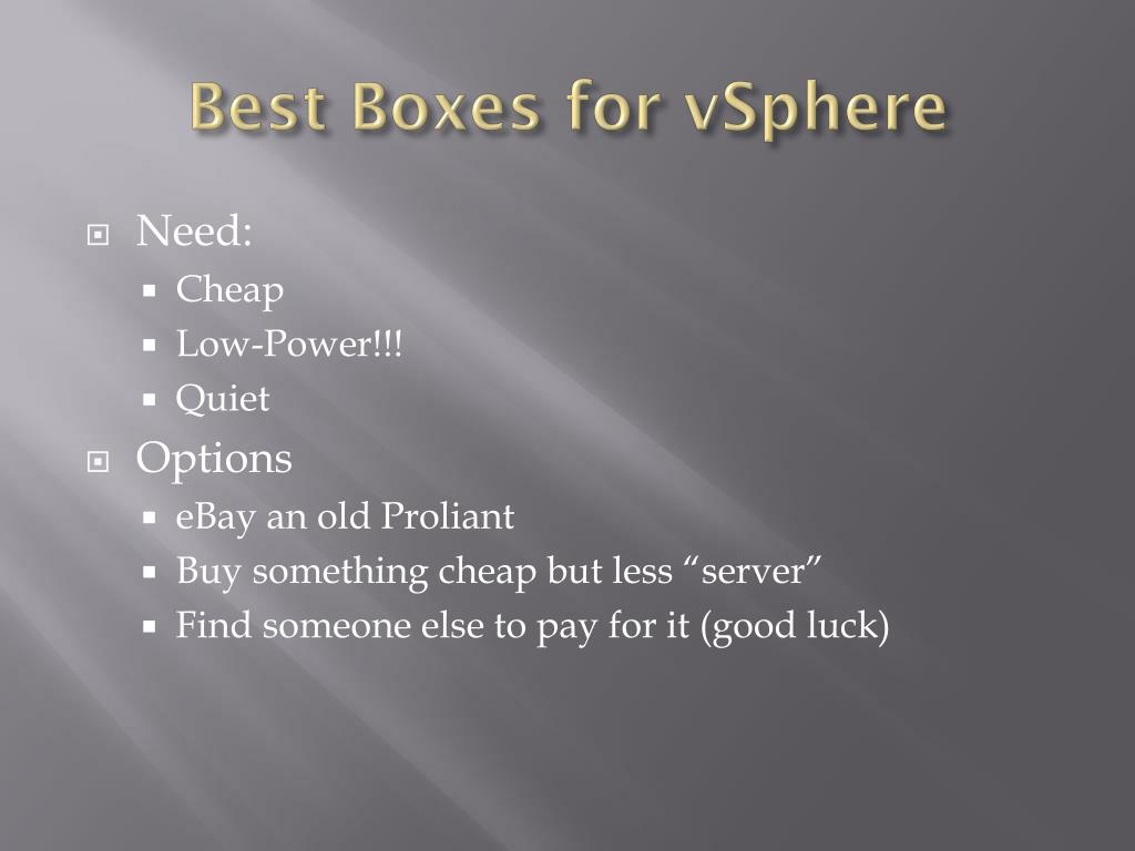 Best Boxes for